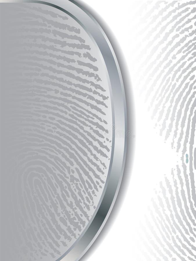 Download Fading gray fingerprints stock vector. Image of backdrop - 12078536