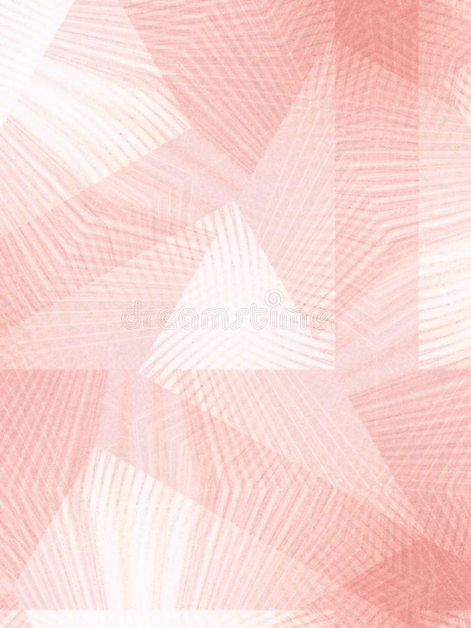 Fading Lines Pattern Pink royalty free stock photo