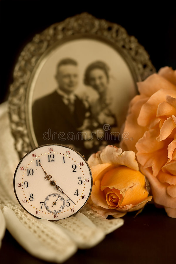 Fading memories stock images