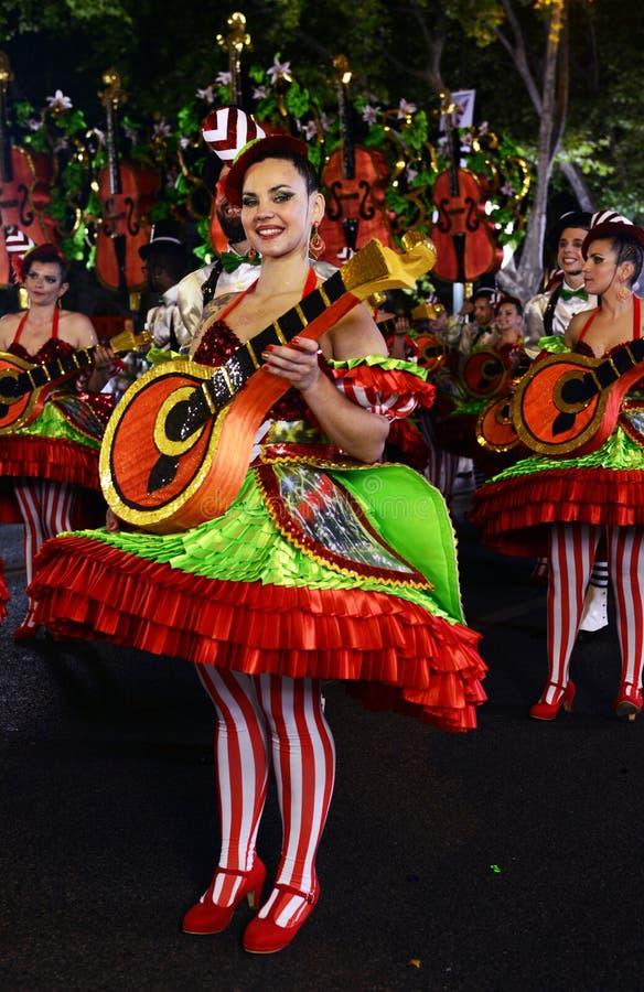 Fado District - Popular Parade Festivities royalty free stock photos