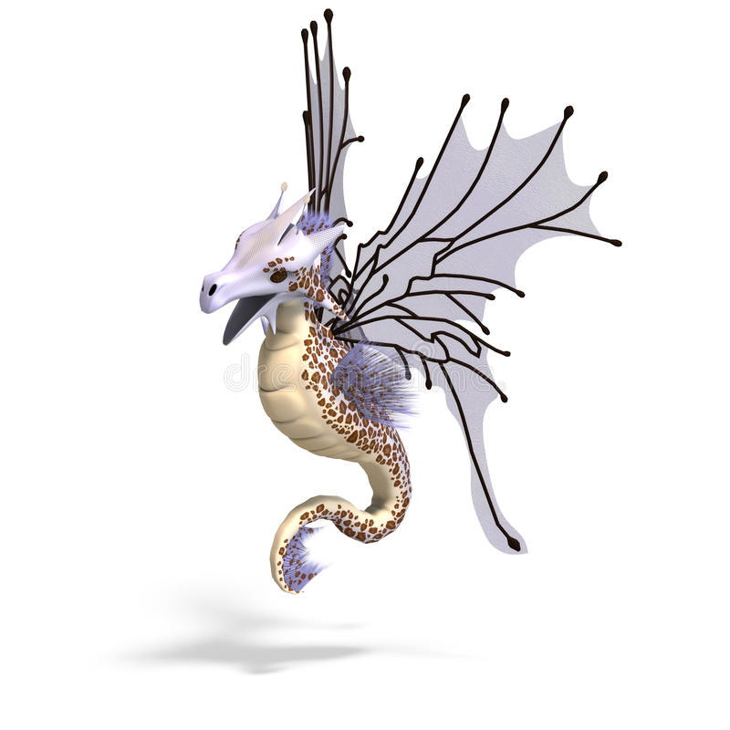 Download Faerie Fantasy Dragon stock illustration. Illustration of fairy - 10434239
