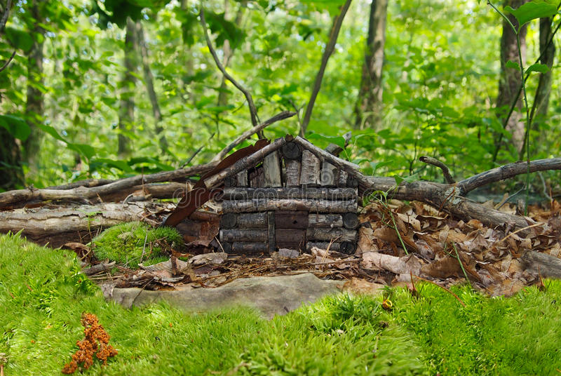 Download Faerie House 2 stock image. Image of faerie, home, woods - 25396111