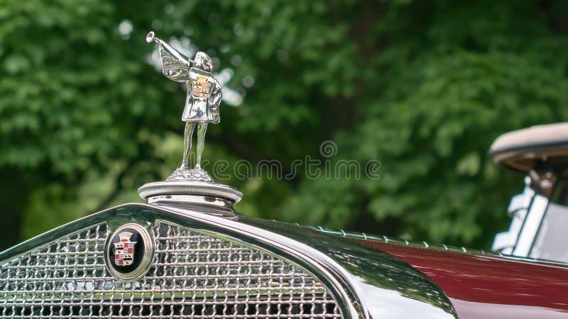 Faetón 1929 de Cadillac fotografía de archivo