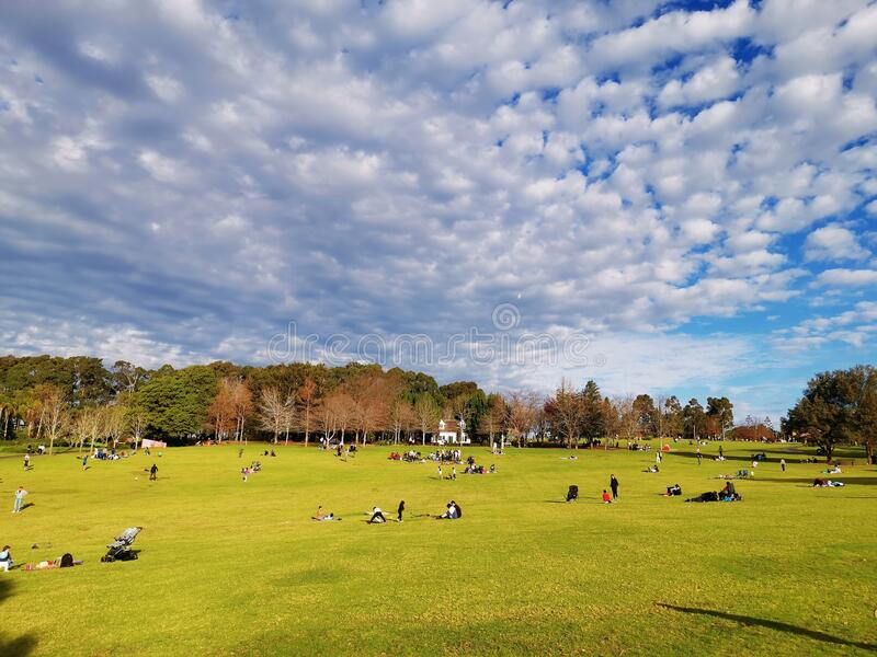 Fagan Park Sydney Australia royalty free stock photo