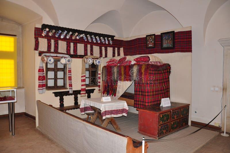 Fagaras堡垒,博物馆 免版税库存照片