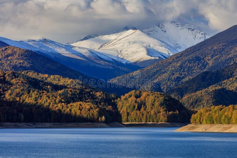 Fagaras berg Rumänien royaltyfri fotografi