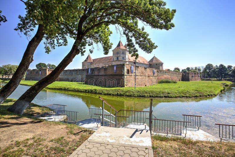 Fagaras Citadel, Romania royalty free stock images