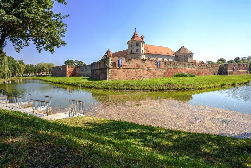 Fagaras Citadel, Romania royalty free stock photography