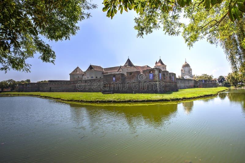 Fagaras Citadel, Romania stock images