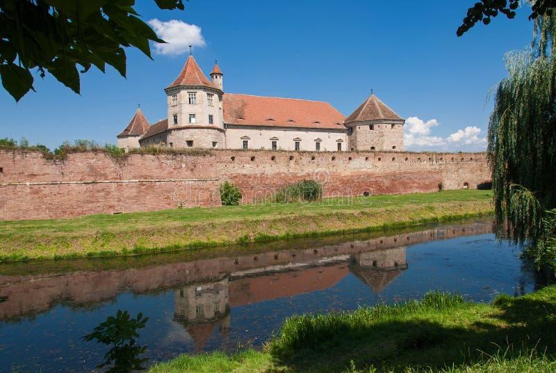 Fagaras Festung, Rumänien stockfoto