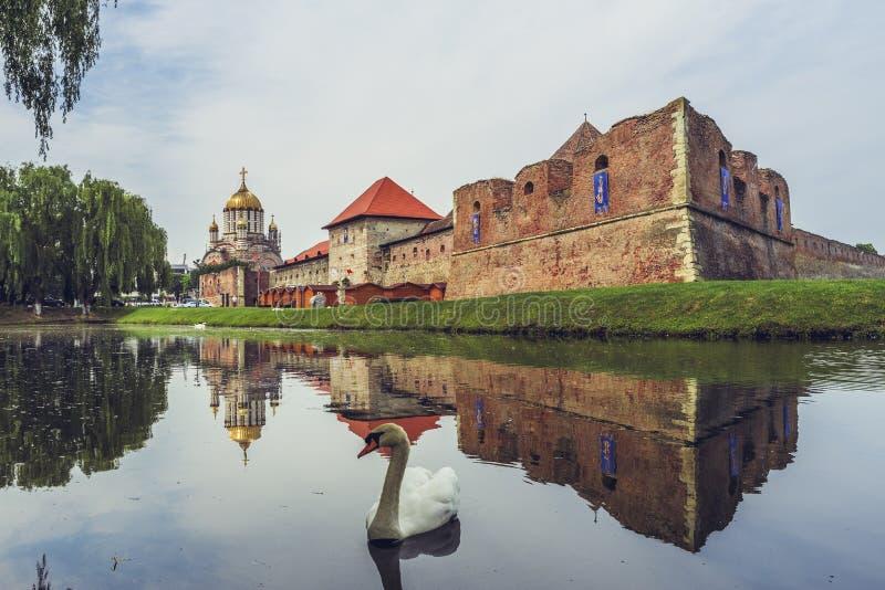 Fagaras forteca, Fagaras, Rumunia obrazy stock