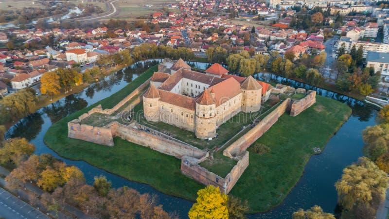 Fagaras forteca, Transylvania, Rumunia obrazy royalty free