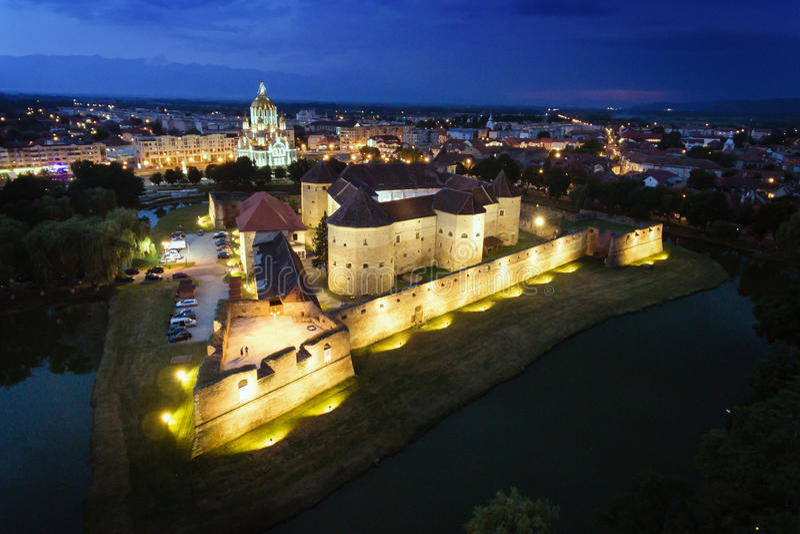 Fagaras Forteczny Brasov Transylvania Rumunia obraz royalty free