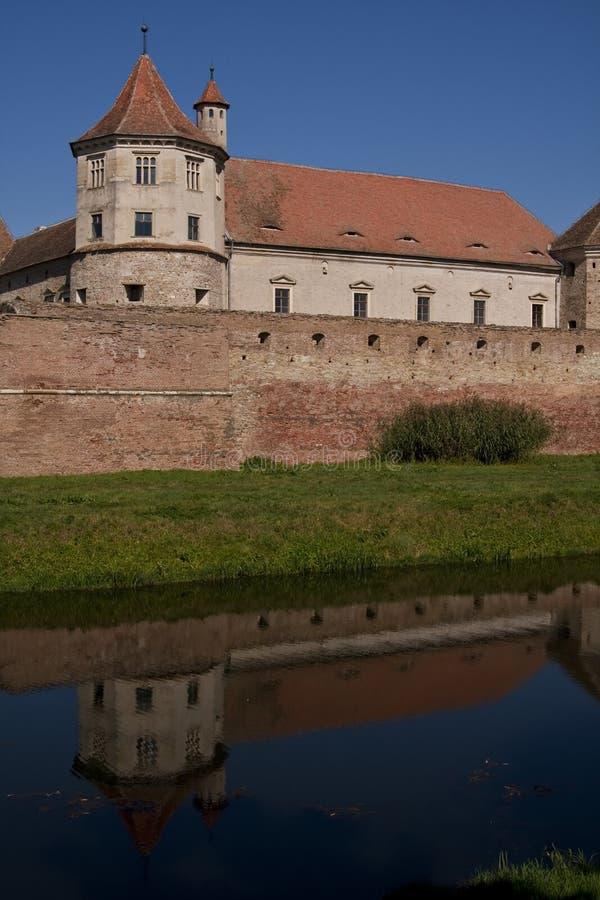 Fagaras fortress royalty free stock photos