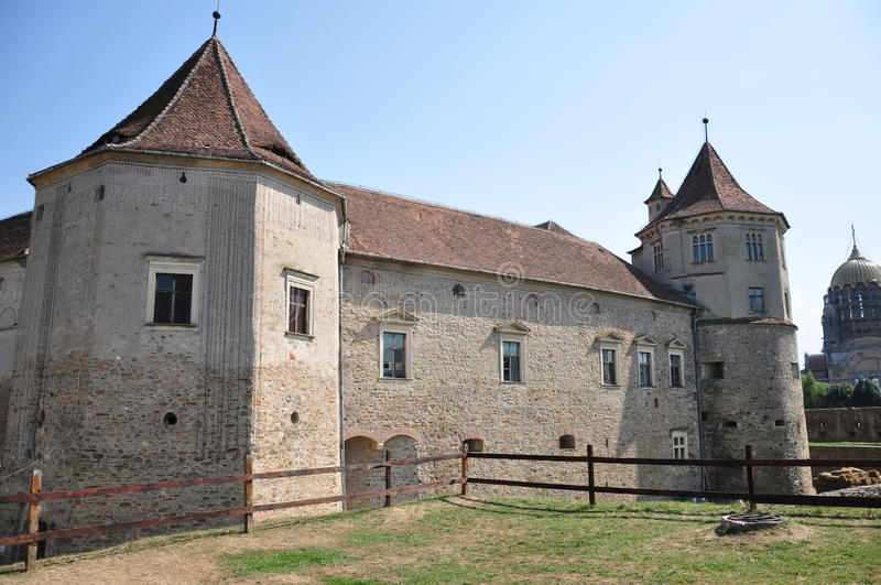 Fagaras fortress. The fortress from Fagaras, in Romania royalty free stock image