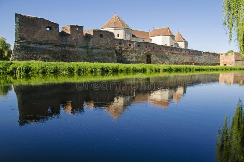 Fagaras fortress royalty free stock photography