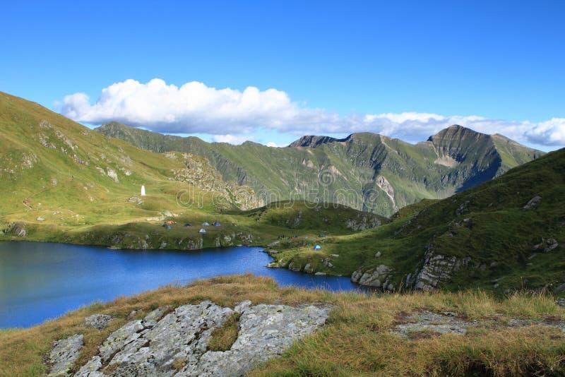 Fagaras mountain, Romania stock photo