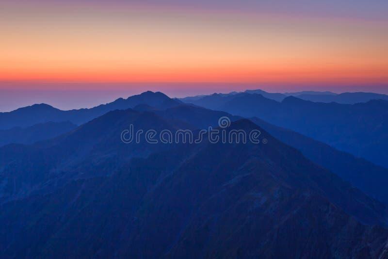 Download Fagaras Mountains stock image. Image of sunshine, fagaras - 26077975