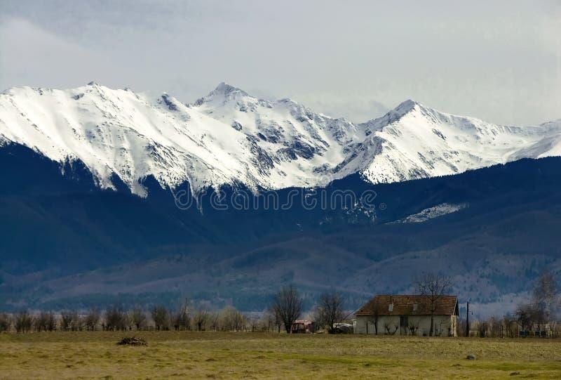Fagaras mountains, Carpathians, Romania stock photography