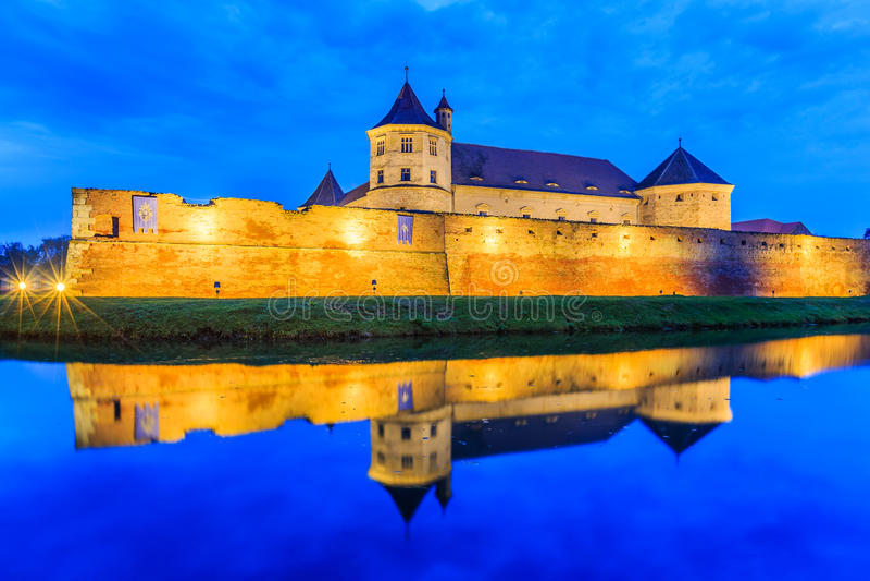 Fagaras, Transylvania, Rumunia fotografia royalty free