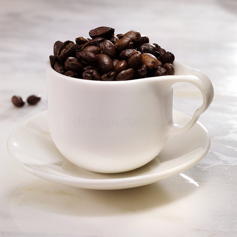 Fagioli di Cofee immagine stock libera da diritti