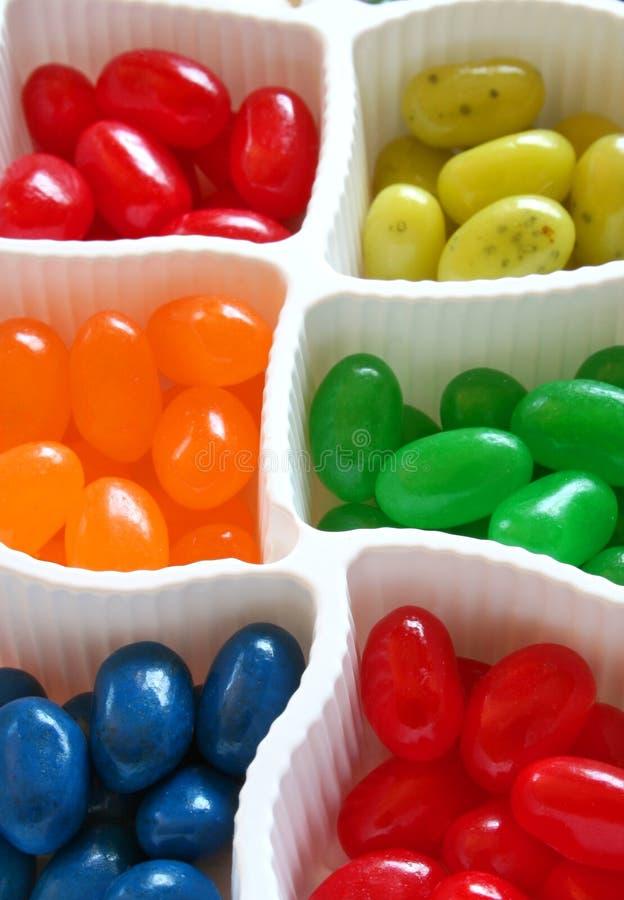 Fagioli di gelatina variopinti immagine stock