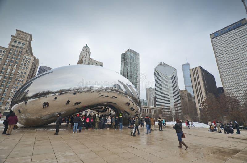 Fagiolo di Chicago fotografia stock