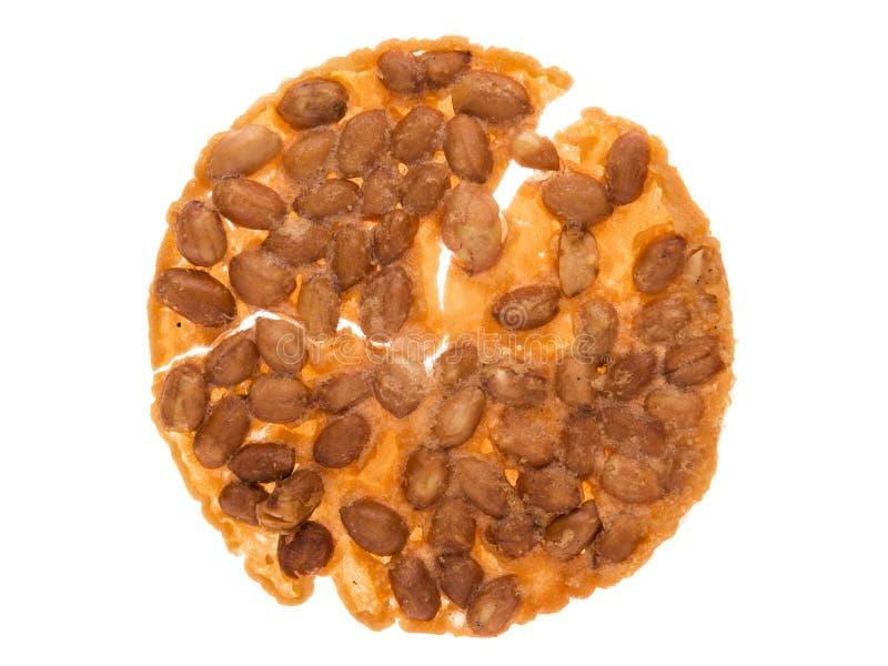 Fagiolo fritto rotto fotografie stock