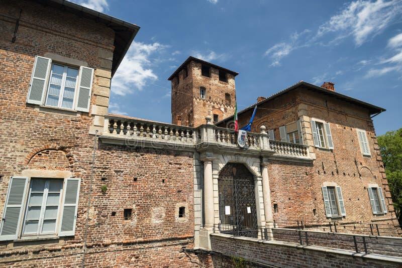 Fagnano Olona (Ιταλία), το κάστρο στοκ εικόνες