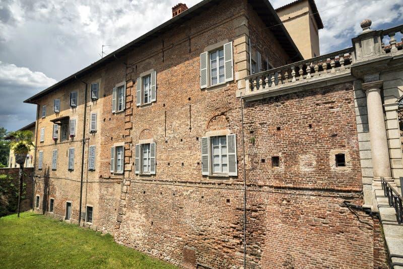Fagnano Olona Ιταλία, το κάστρο στοκ φωτογραφίες