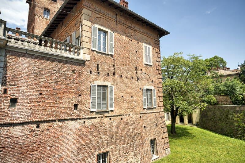 Fagnano Olona Ιταλία, το κάστρο στοκ φωτογραφίες με δικαίωμα ελεύθερης χρήσης