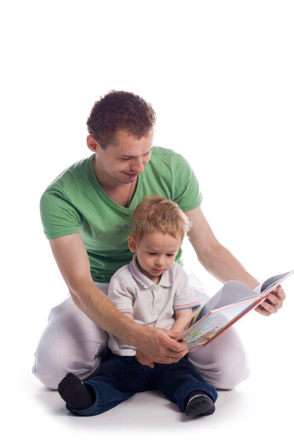 Faher con el niño fotografía de archivo libre de regalías
