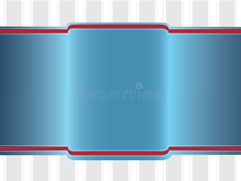 Fahne lizenzfreie abbildung