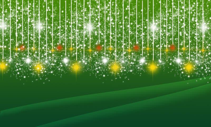 Fahnen-Hintergrund Weihnachten-Diwali Eid Festival Celebration Web Poster lizenzfreie abbildung