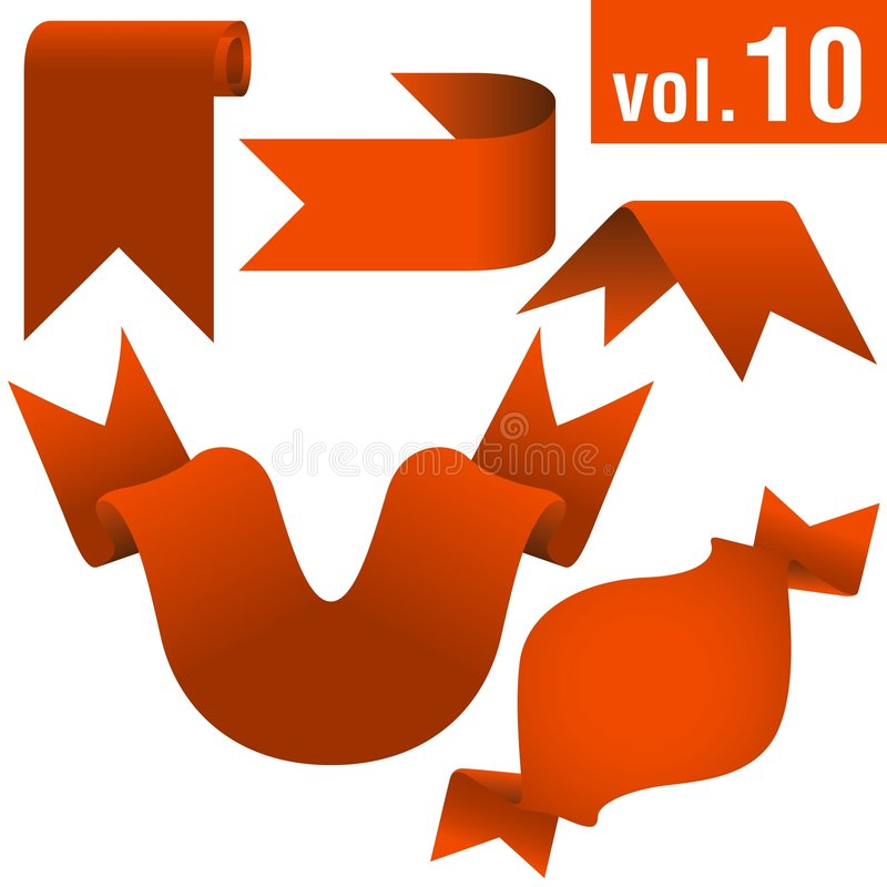 Fahnen vol.10 vektor abbildung