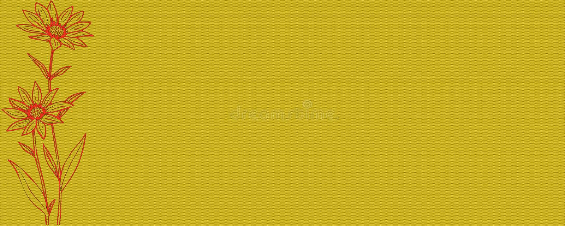 Fahnenblume lizenzfreie stockfotos
