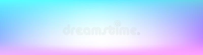 Fahnenhintergrund Steigung des Zusammenfassungs-modischen weichen Pastells multi bunter unscharfer für moderne helle Website-Fahn lizenzfreie stockfotos
