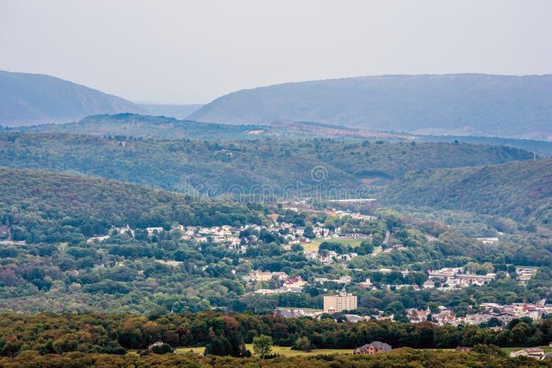Fahnenmast Mountain View stockfoto