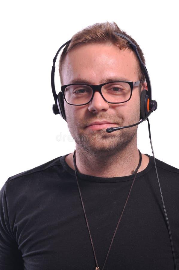 Fahrdienstleiter mit Gläsern stockfoto