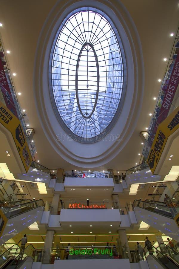 Fahrenheit88 Shopping Mall ceiling royalty free stock photo