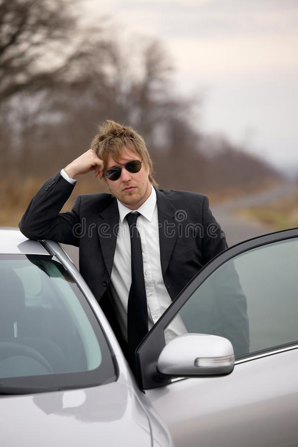 Fahrer lizenzfreies stockbild