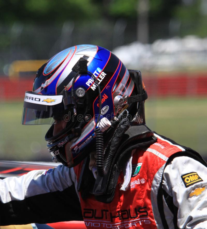 Fahrer John Edwards stockfotografie
