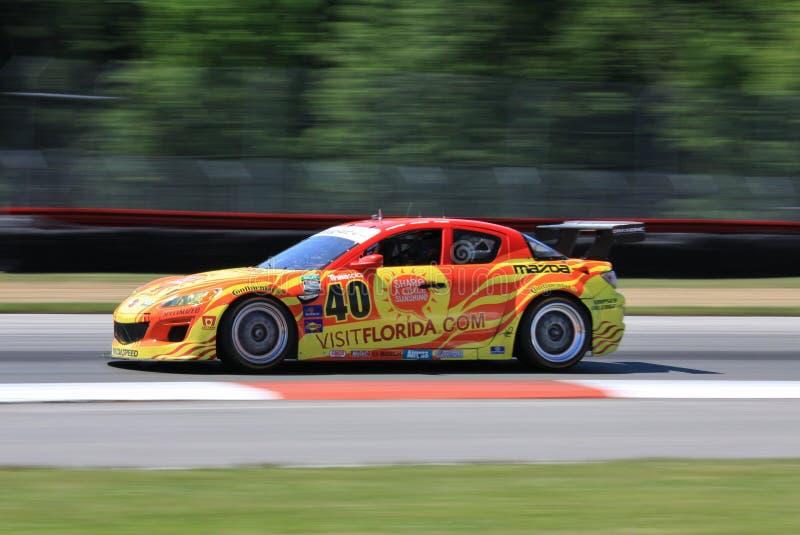 Fahrer Patrick Dempsey stockfoto