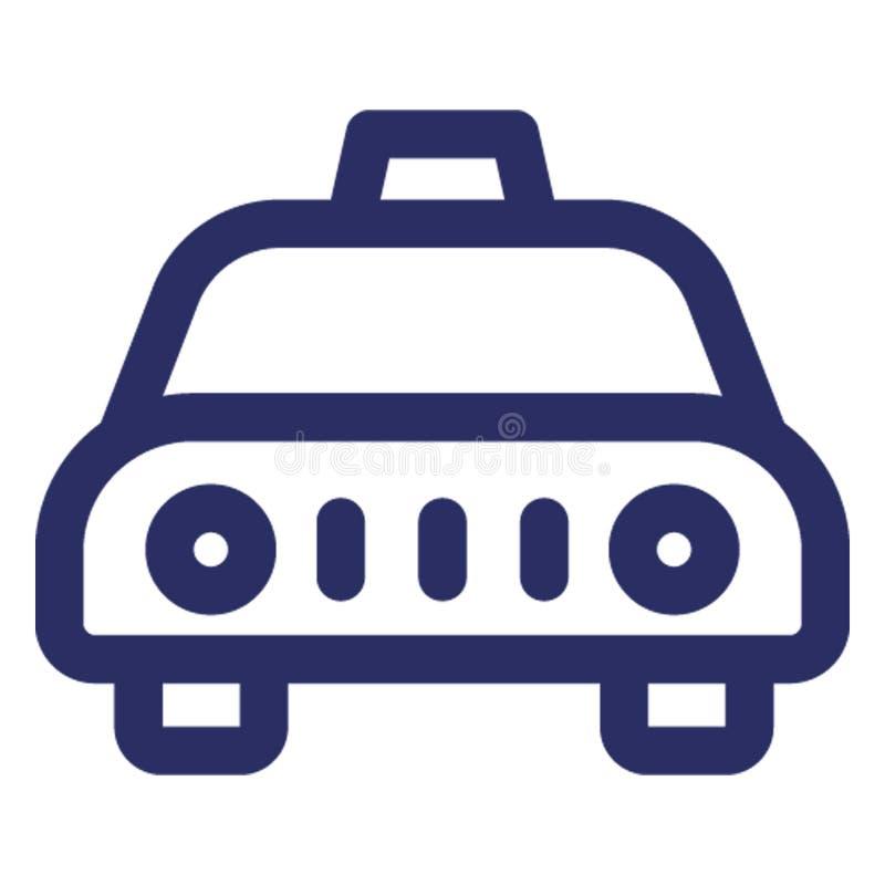 Fahrerhaus, lokale Transport Vektorikone, die leicht ändern oder redigieren kann lizenzfreie abbildung
