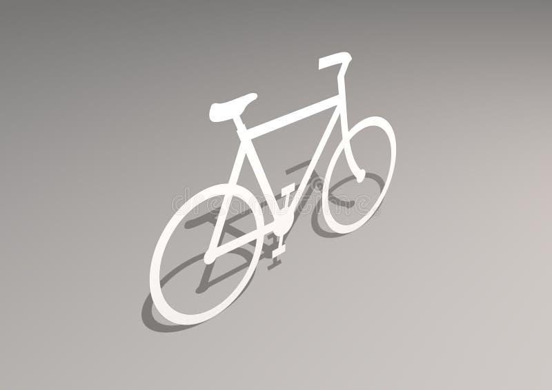 Fahrrad vektor abbildung