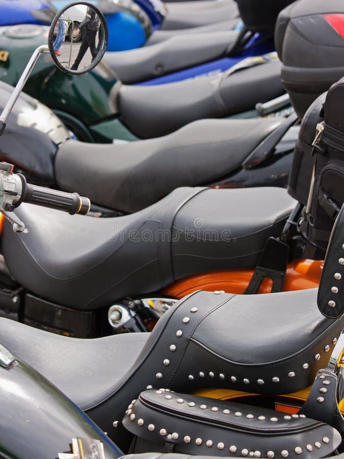 Fahrrad-Anordnung stockbild