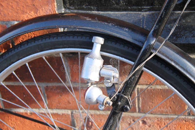 Fahrrad-Dynamo lizenzfreies stockbild