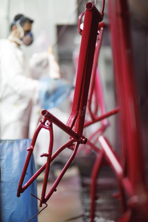 Fahrrad-Fabrik Dyehouse lizenzfreie stockfotos
