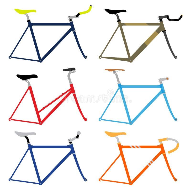Fahrrad-Rahmen lizenzfreie abbildung