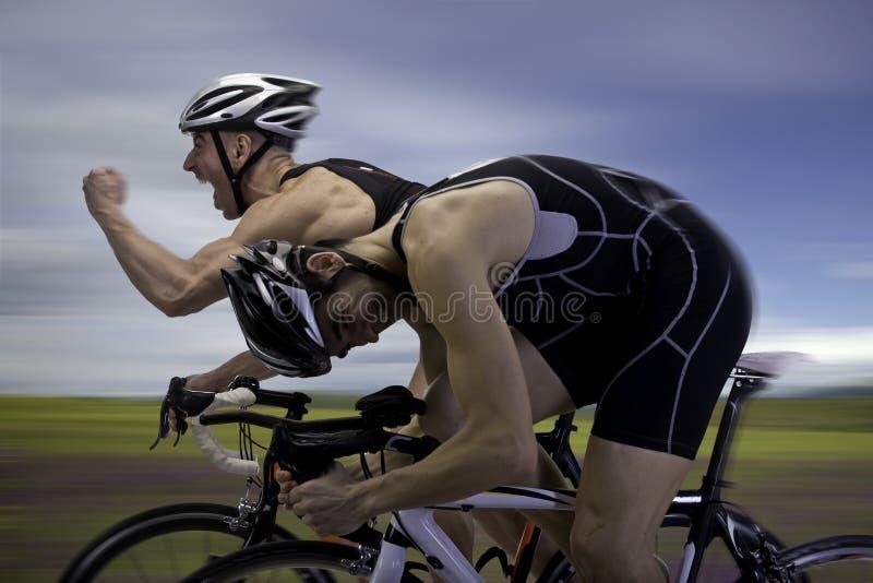 Fahrrad-Rennen lizenzfreie stockbilder